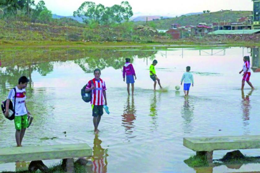 Inundaciones,  la pesadilla