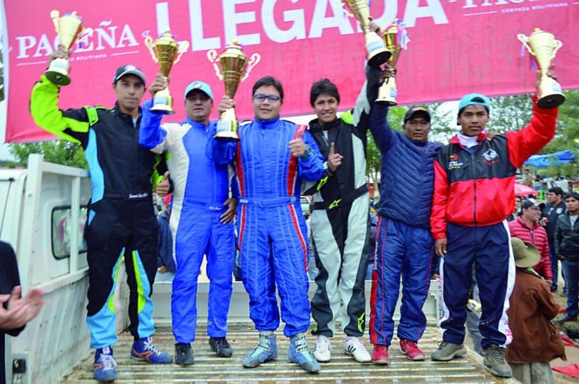Vargas ganó la R1B, los podios de R2B Libre y RC2NN.
