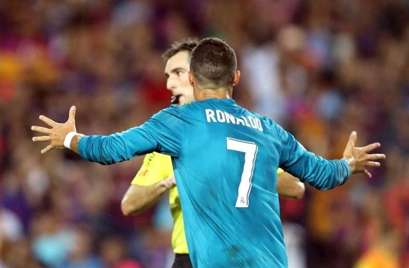 Cristiano Ronaldo no jugará cinco partidos. Foto: EFE