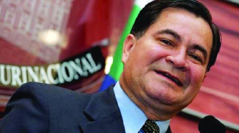 PARTIDA. El ex senador Róger Pinto estuvo como asilado político en Brasil desde 2013.