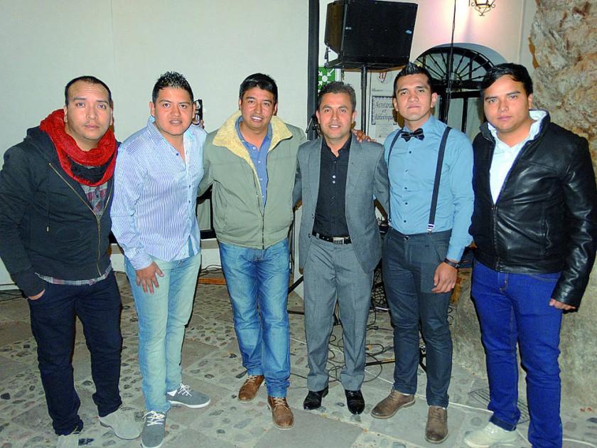 José Mario Trujillo, Bryan Montesinos, Reynaldo Zambrana,  Osmar Apaza, Francisco Achá e Israel Trujillo.
