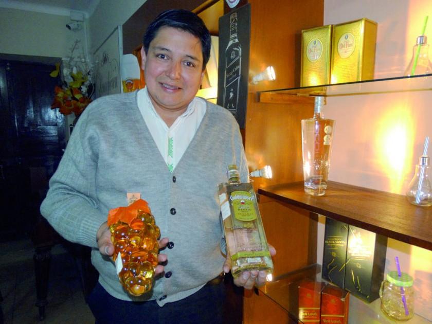 Juan Pablo Donoso, gerente propietario.