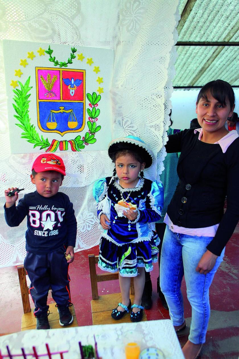 Cochabamba: Thiago Montoya y Bryana Barrientos.