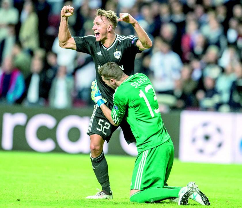 Liverpool volvió a la fase de grupos luego de dos años; mientras que el Qarabag clasificó por primera vez.