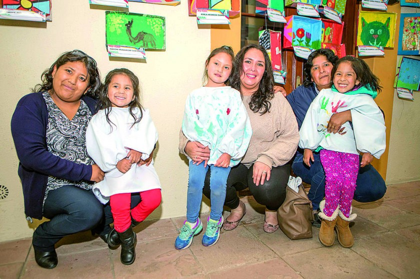 María Gorostiaga, María del Carmen Cavalotty, Karina Álvarez, Valentina Liendo, María René Ramos y Luciana Dávalos.