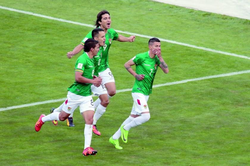 La Verde hunde a Chile