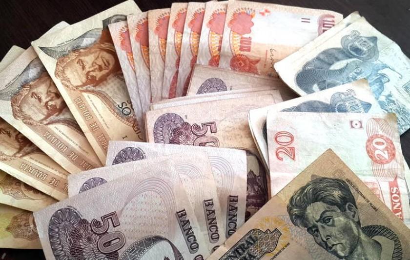 Alistan los nuevos billetes de circulación en Bolivia. Foto: Internet