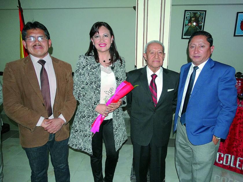 Pascual Yampa, Faviola Cruz, Abel Zamora y José Luís Ruelas.