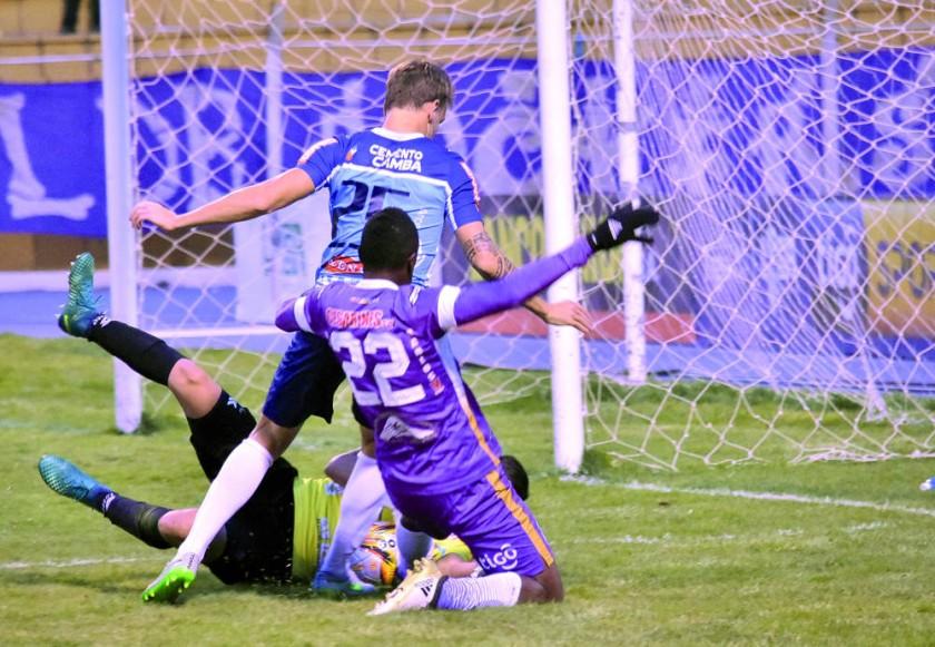 El equipo potosino superó a Blooming, en el estadio Víctor Agustin Ugarte de la Villa Imperial.