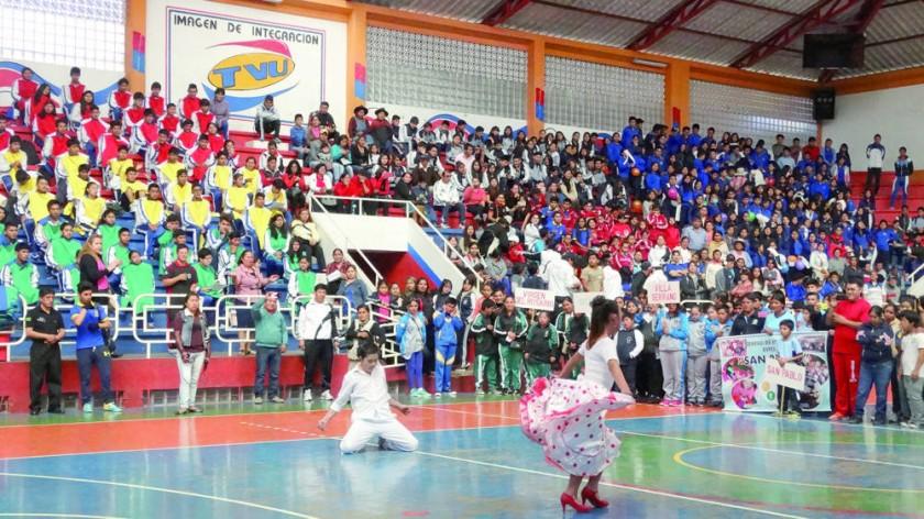Ayer se inauguraron los Juegos y también se disputaron las pruebas de gimnasia rítmica.