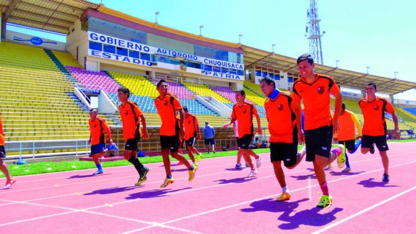 Flamengo y Atlético Sucre jugarán esta tarde en condición de visitante.