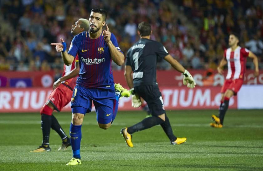 Luis Suárez y Dani Ceballos marcaron para el Barcelona y el Real Madrid, respectivamente.