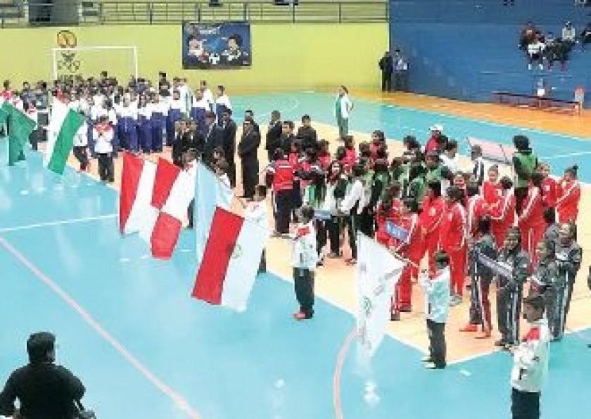 Ocho delegaciones participan del torneo nacional.