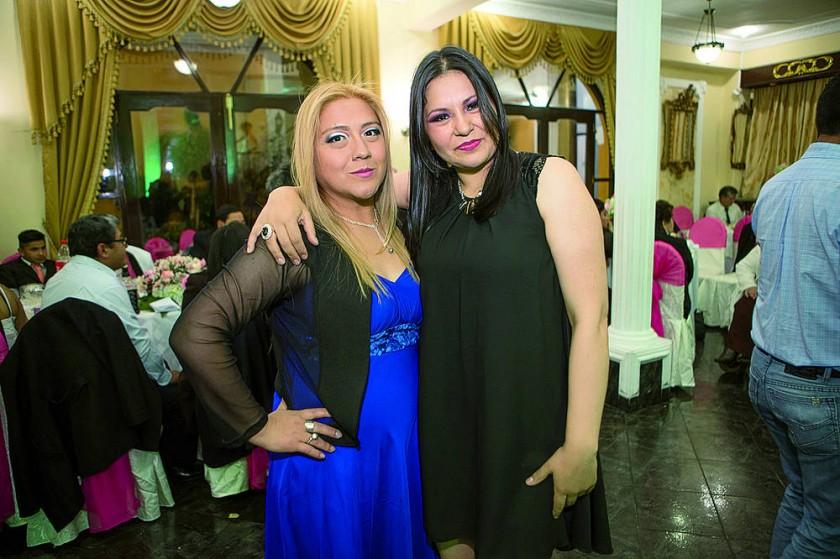 Marvel Núñez y Gabriela Tonelli.