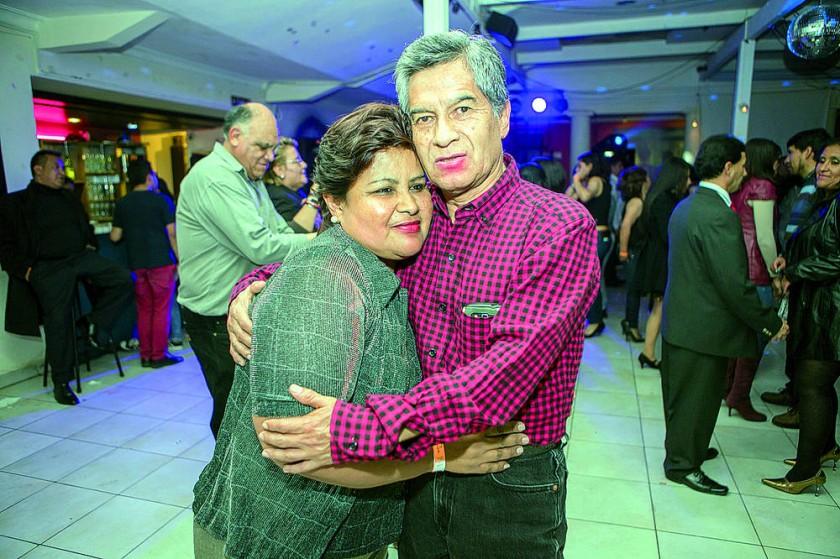 Mariana Muñoz y Javier Salinas.