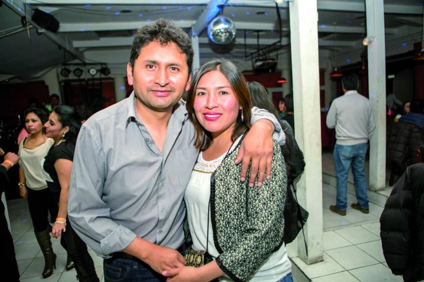 Javier y María.