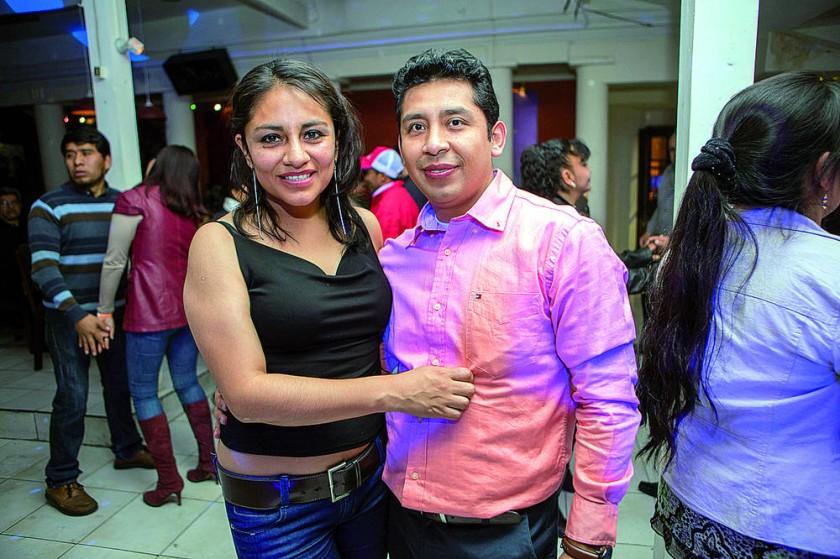 Susana Vega y Edwin Rojas.