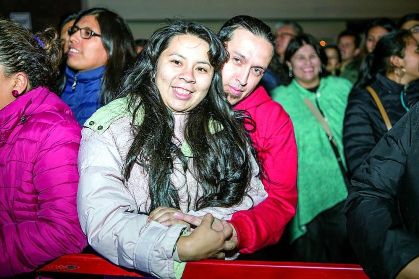 """En el concierto de """"Los Autenticos Decadentes"""""""