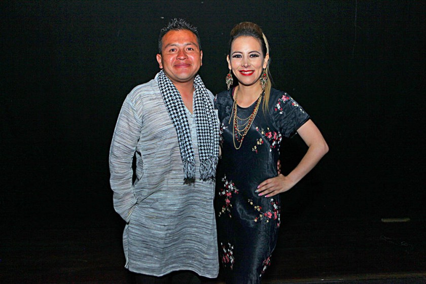 Presentadores: Wilder Díaz y Mónica Mercado.