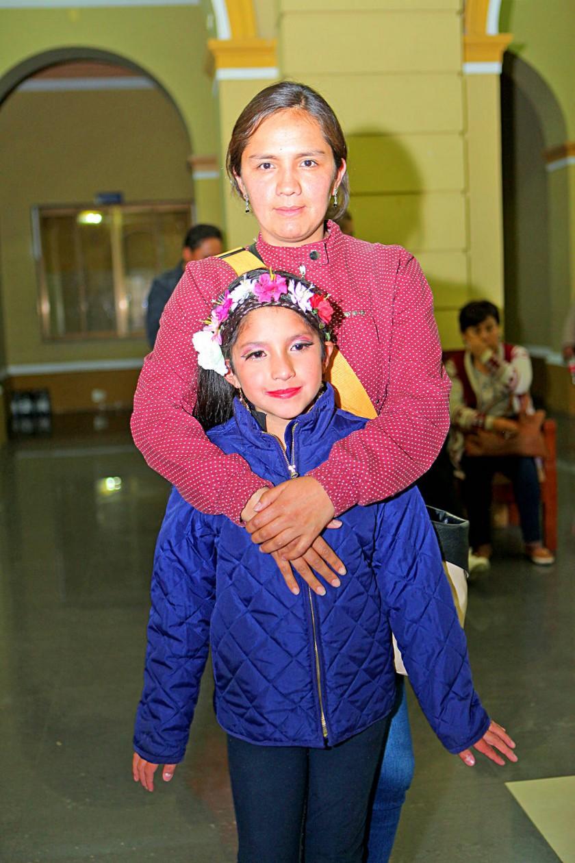 Cecilia Rivas y Silvia Rojas.