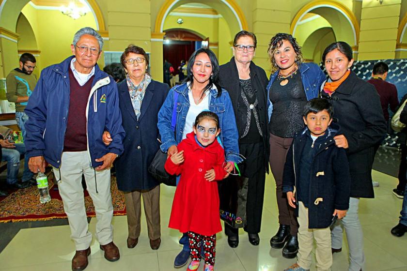 Familia Villagómez Durán.