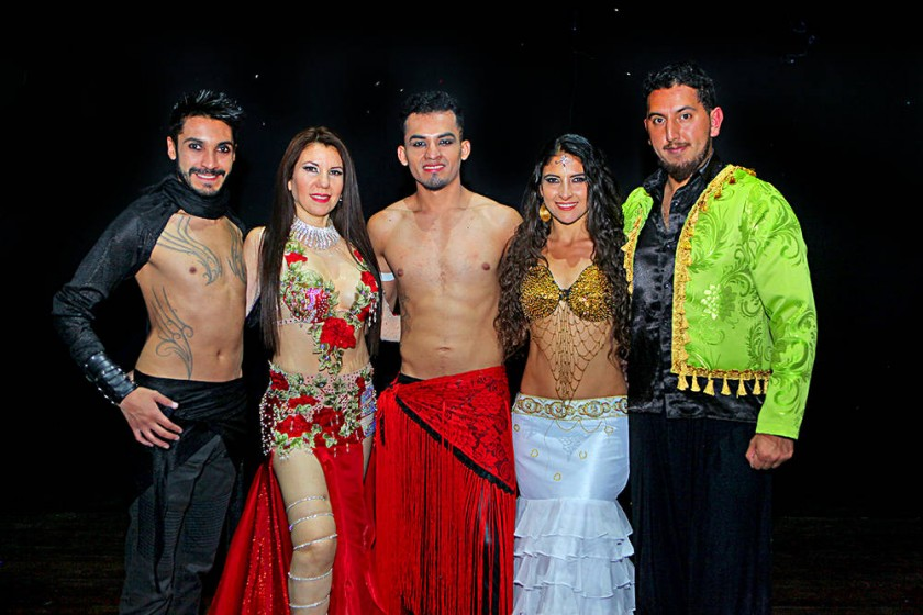 Invitados especiales:  Leam VelDom (La Paz),  Samaira Laura Salinas (Chile),  Carlos Gutiérrez (Tarija),  Yaribay Avella