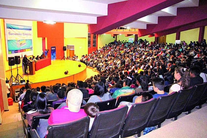 INAUGURACIÓN. La Villa Bolivariana fue el escenario de la apertura de la competencia nacional en Sucre.