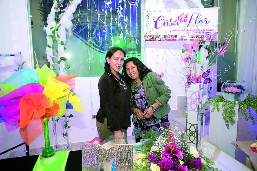 Casa Flor: Pamela y Silvia Flores.