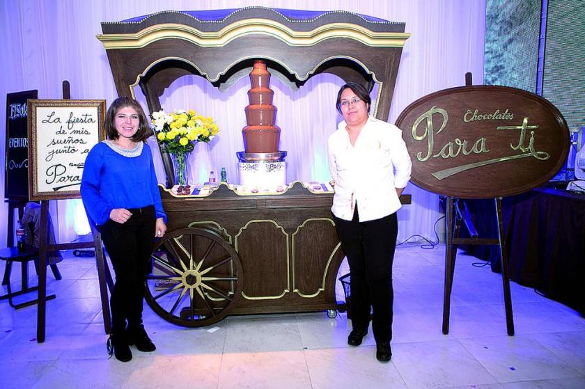 Chocolates Para Ti: Laura Loayza y Alejandra Mendoza.