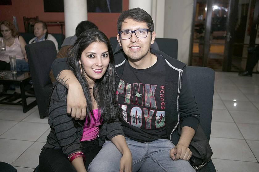 Maribel Lezano y Mauricio Barrenechea.