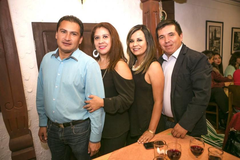 Frigor: Gerardo Toledo, Paola Iriarte, Rosario López  y Roldman Beltrán.