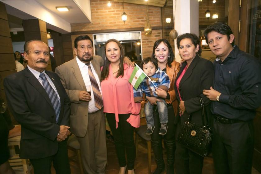 Familia Taborga - Ortega.