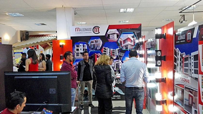 EVENTO. El Centro Empresarial de la CAINCO Chuquisaca acogió esta primera versión renovada y ampliada de la Expo Hogar.
