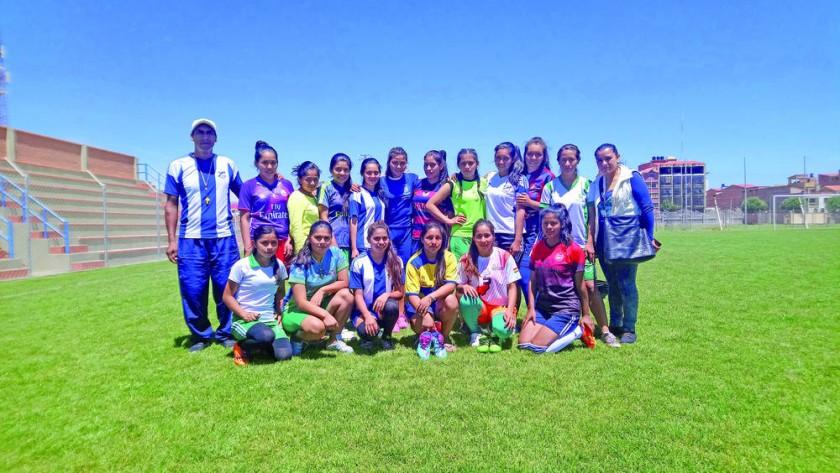 El colegio Lucio Siles de Monteagudo representará a Chuquisaca en el fútbol femenino de la fase nacional