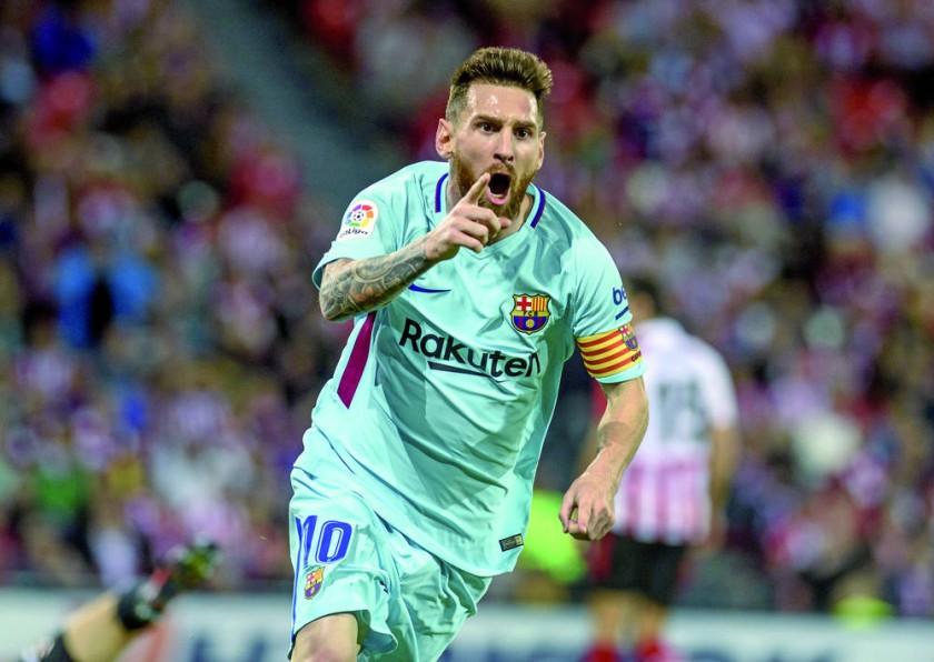 Lionel Messi y Marc-Andre Ter Stegen impulsaron el triunfo del Barcelona sobre el Athletic.