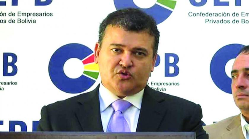 CEPB. El presidente Ronald Nostas.