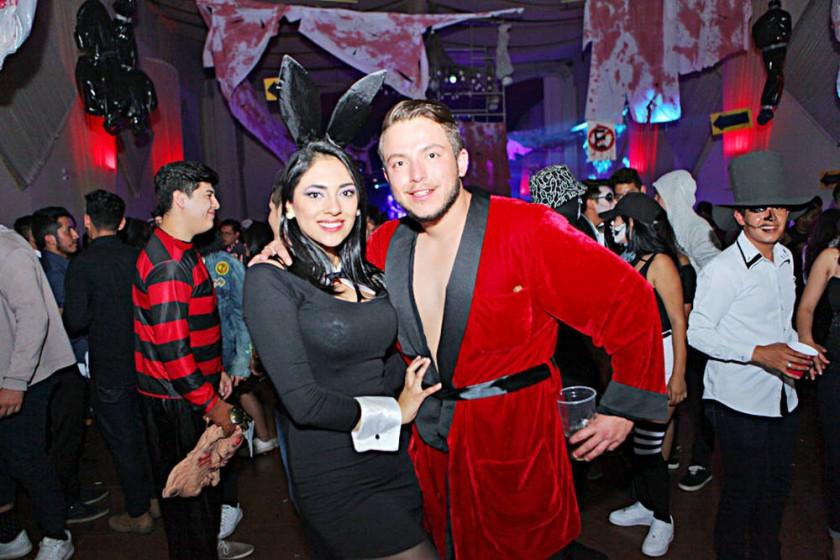Paola Flores y Miguel Luna.