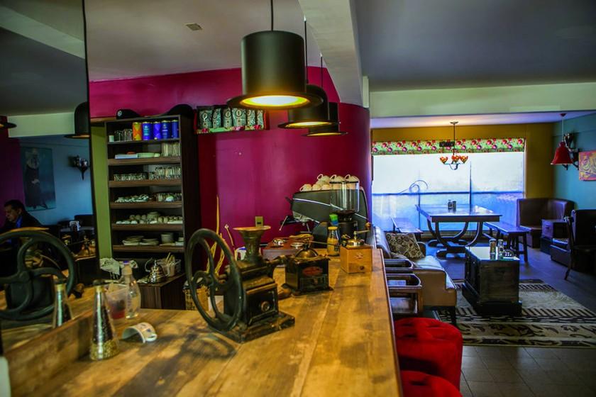 Cafecito de estilo francés