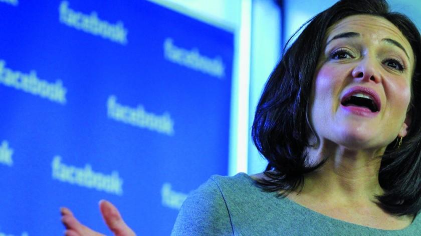 Sheryl Sandberg, directora de Operaciones de Facebook, la red social más popular del mundo.