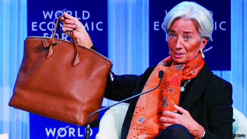 Christine Lagarde, directora del Fondo Monetario Internacional (FMI).