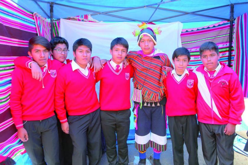 """3ro """"B"""", Cosmovisión Quechua."""