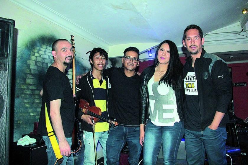 Álvaro de la Fuente, Diego Borja, Mauricio Arancibia, Paola Durán  y Sergio Fiengo.