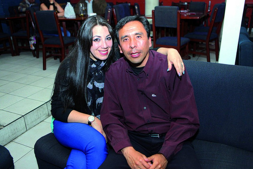 Ilda Caballero y Jimmy Castro.
