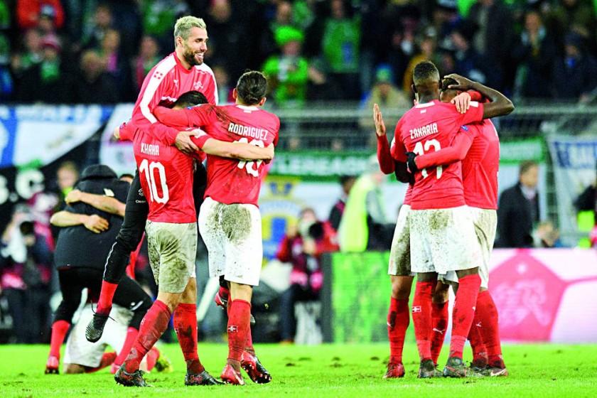 Suiza y Croacia sellaron su pase a la cita mundialista.