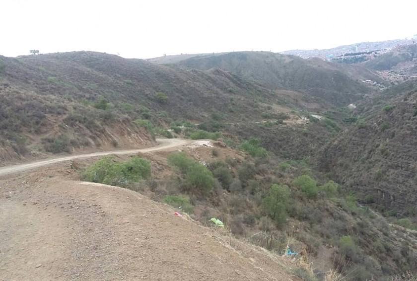 Este es el camino al barrio Santa Isabel. Foto: Captura/Googlemaps