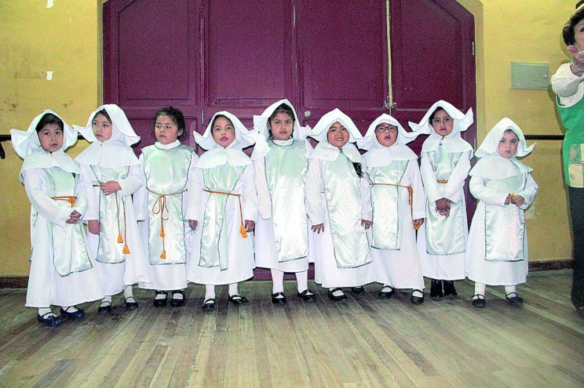 Las novicias del convento.