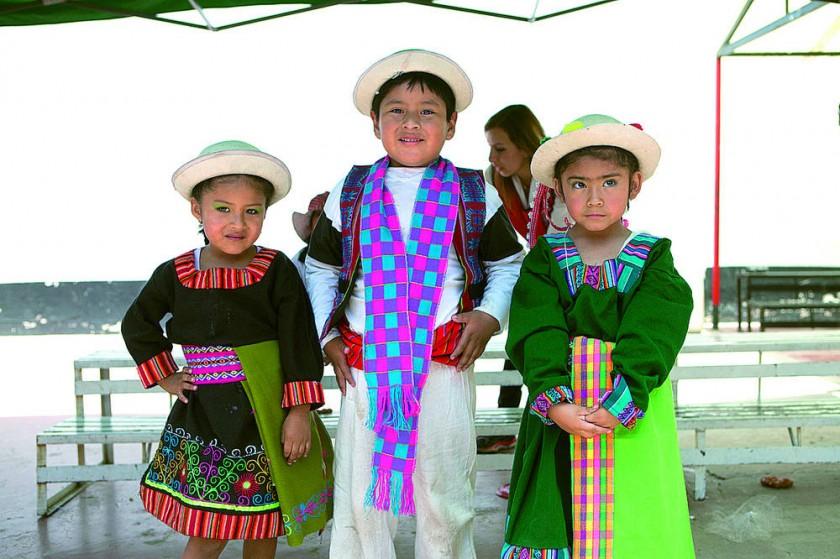 Cielo Durán, Alejando Herrera y Jhomaira Poveda.