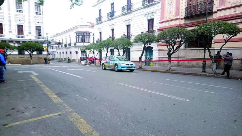 Los coches retornaron ayer a Sucre, luego de tres diías.