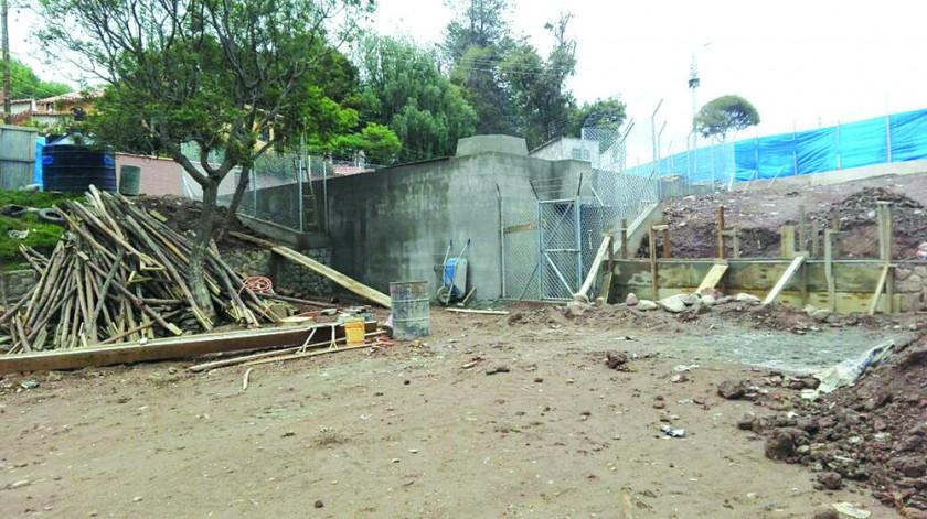 AGUA. Terminó la construcción del megatanque en El Guereo.