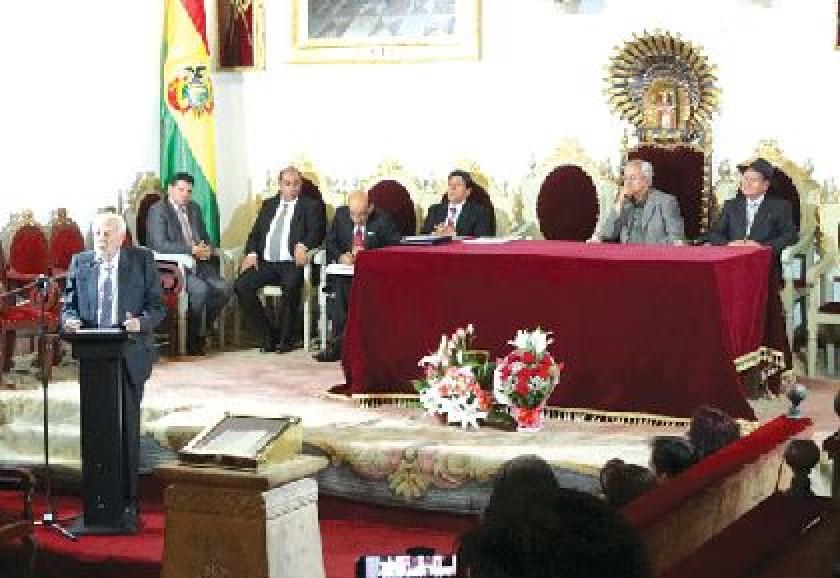 Declaran a Correo del Sur en sus 30 años un patrimonio de Sucre